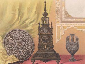 El reloj de la reina, Zuloaga. Exposición Universal. Londres, 1862.