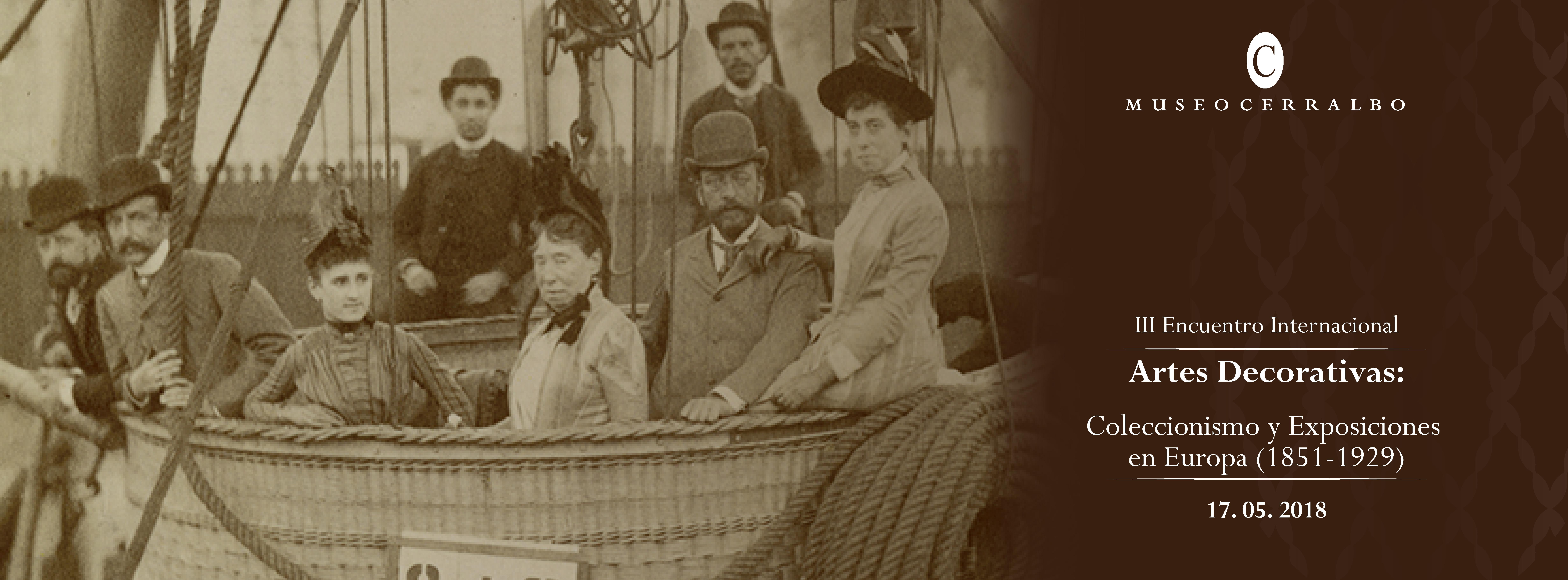 Artes Decorativas – Coleccionismo y Exposiciones en Europa 1851-1929